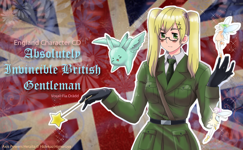 Nyotalia: Absolutely Invincible British Gentleman