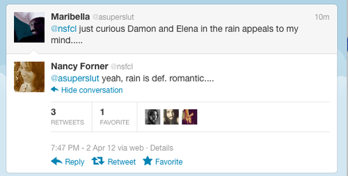 OMG!!!!!!!!!!DELENA IN THE RAIN? - damon-and-elena Screencap