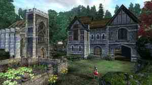 Oblivion (Elder Scrolls IV) fond d'écran possibly with a manor titled Oblivion