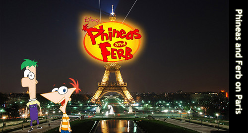 Phineas and Ferb on Paris