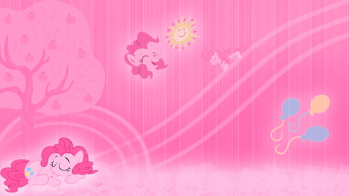 my little pony friendship is magic wallpaper probably containing a air mancur titled Pinkie Dream