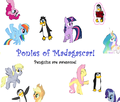 Ponies of Madagascar!, penguins are awesome