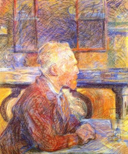Portrait de Vincent وین Gogh