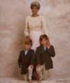 Princess Diana and her Sons (Never before seen)