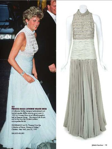 Princess Diana's Catherine Walker Dress