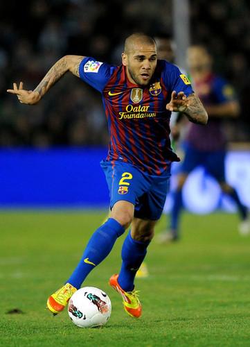 Racing de Santander (0) v FC Barcelona (2)