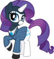 Rarity is a spy