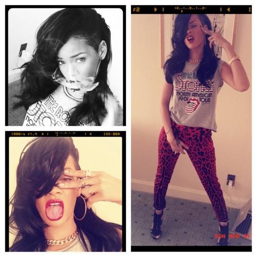 Rihanna's new twitter pic