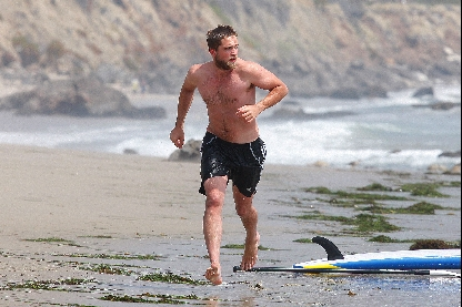 Rob in malibu HOT!