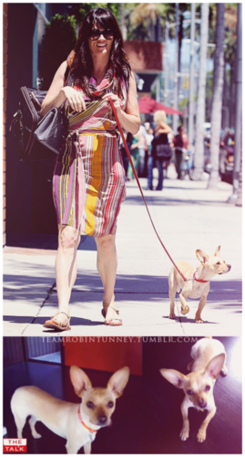 Robin and her dog :)