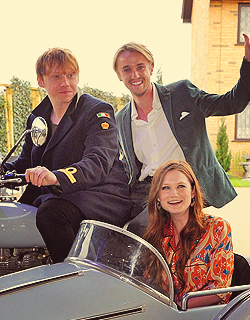 Rupert, Bonnie, and Tom