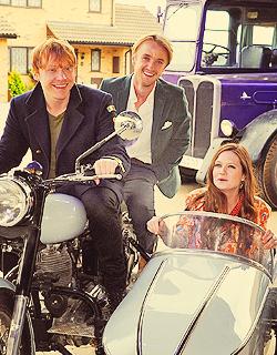 Rupert, Bonnie, and Tom