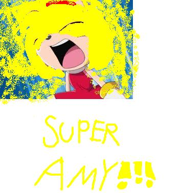 Sonic X wallpaper titled SUPER AMY