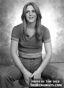 Sandy West in 1976
