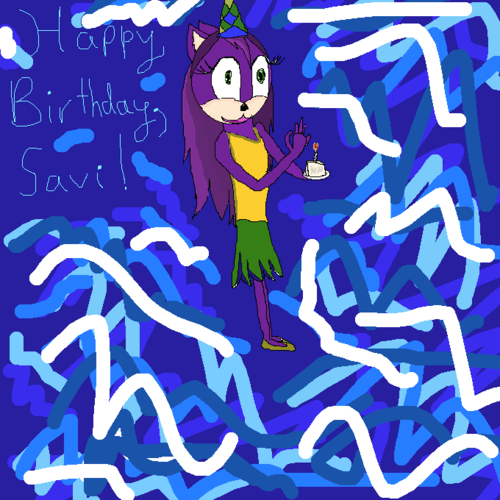 Savi's Birthday Present