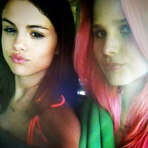 Selena Gomez and Rachel Korine