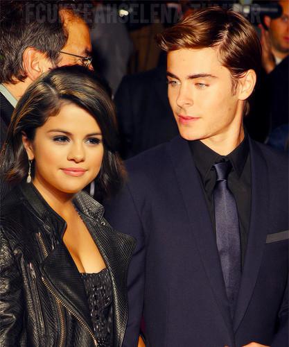 Selena Gomez & Zack Efron