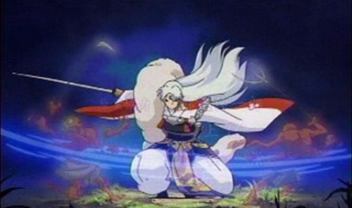 Sesshomaru and Sword - sesshyswind Screencap