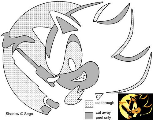 Shadow Jack-o'-Lantern Pattern