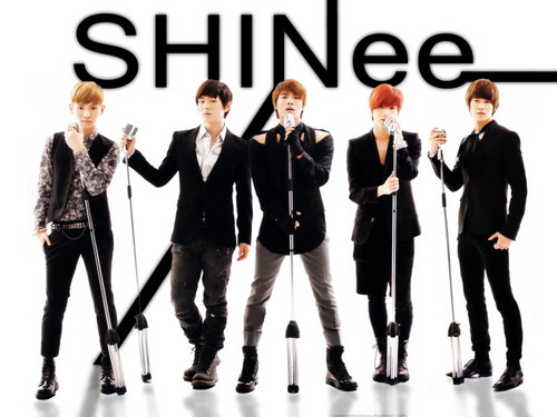 magicalfairy Обои with a business suit and a well dressed person titled Shining SHINee <3
