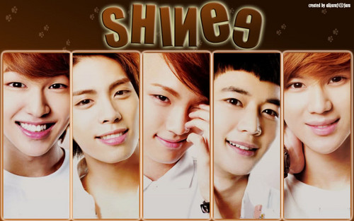 magicalfairy 壁纸 entitled Shining SHINee <33333
