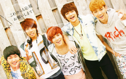 magicalfairy wallpaper entitled Shining SHINee <33333