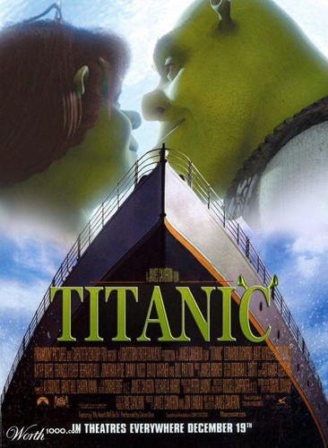 Shrek Titanic - shrek Fan Art