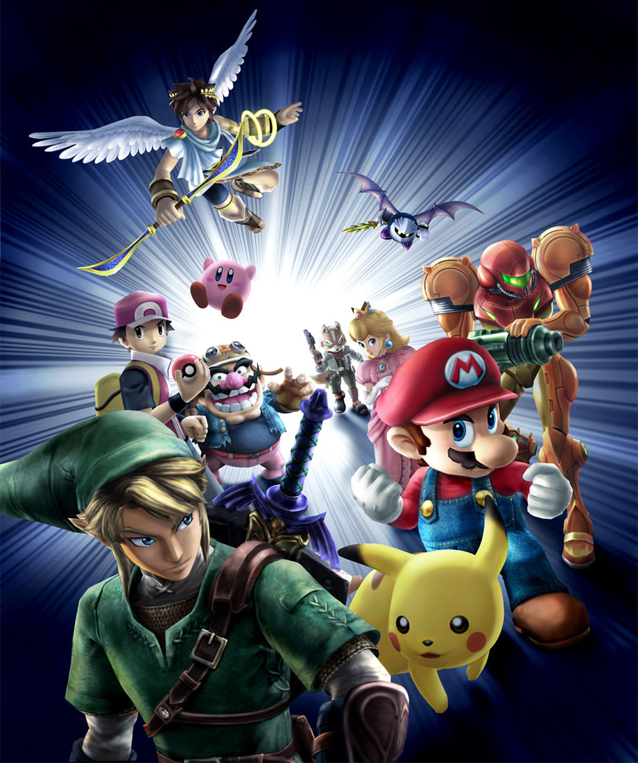 series crossovers images super smash bros brawl hd wallpaper and
