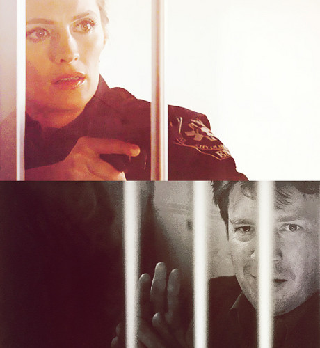 замок & Beckett Обои with a holding cell and a penal institution titled Sweetest Look Ever <3
