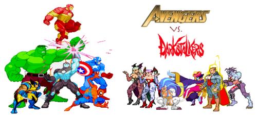 The Avengers Vs. Darkstalkers