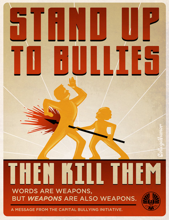 The Hunger Games Propaganda Posters