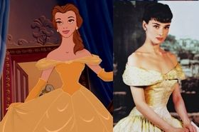 The girl who Belle was modeled after