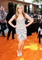 The iCarly cast at the Kids' Choice Awards 2012 orange carpet - icarly photo