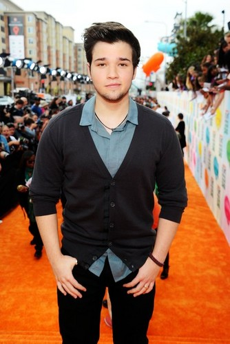 The iCarly cast at the Kids' Choice Awards 2012 kahel carpet