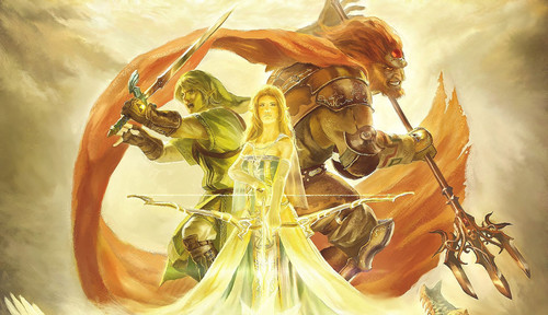 The legend of zelda प्रशंसक art