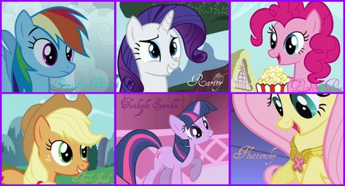 My Little Pony Friendship is Magic images The main 6 HD wallpaper and background photos