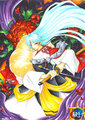 This is GORGEOUS. - sesshomaru fan art
