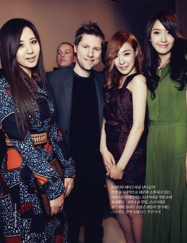 Tiffany Yoona & Seohyun for Bazaar magazine
