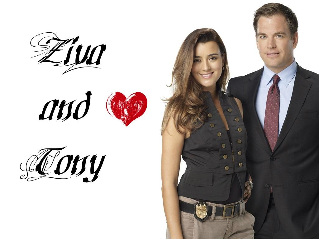 Tony and Ziva 壁紙