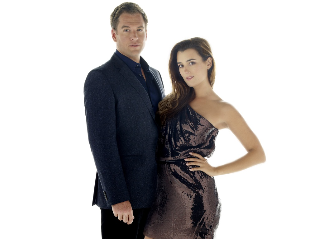 Tony and Ziva 壁纸