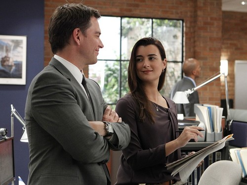 Tiva fondo de pantalla containing a business suit called Tony and Ziva fondo de pantalla
