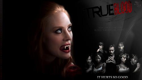 True Blood wolpeyper