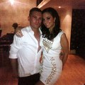Tulisa with Gareth
