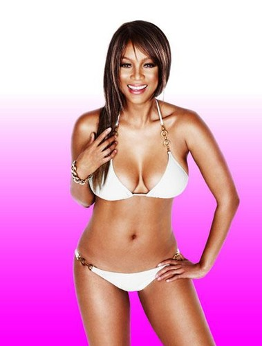 Tyra Banks wallpaper with a bikini titled Tyra costume da bagno body