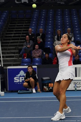 Tamira Paszek Anticipates with Intensity