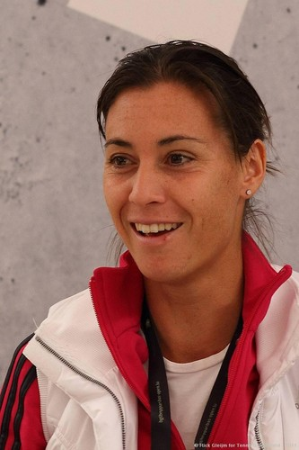 Flavia Pennetta Mesmerizes with Words