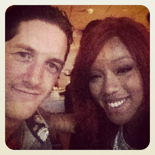 Wade Barrett and Alicia soro