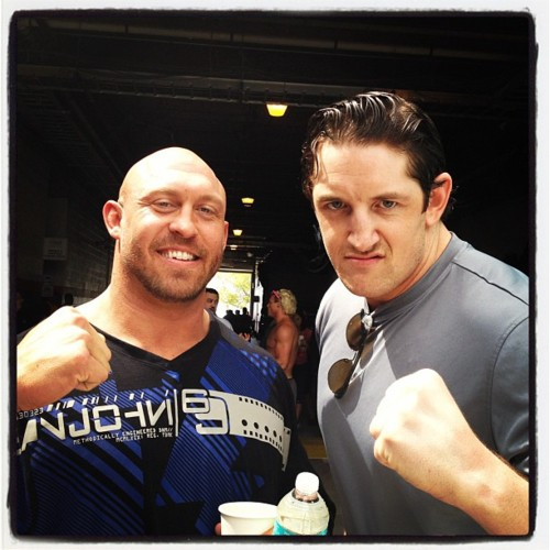 Wade Barrett and Ryback(Skip Sheffield)