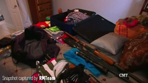 Wendy and Doug's suitcases