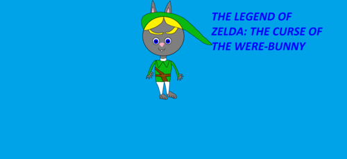 Were-Bunny Link - the-legend-of-zelda Fan Art